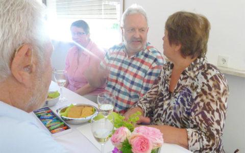 Eröffnung Kulturtrommel am 2.6.19 - Gäste im Gespräch
