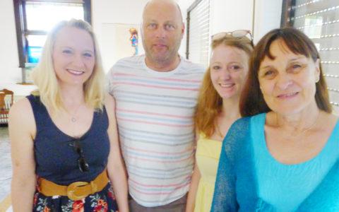 Eröffnung Kulturtrommel am 2.6.19 - Gäste mit Marianne Nalbach