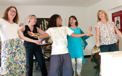 Eröffnung Kulturtrommel am 2.6.19 mit Band Mama Afrika und Tanz