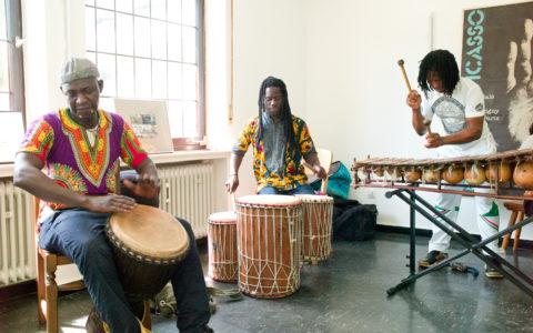 Eröffnung Kulturtrommel am 2.6.19 mit Band Mama Afrika